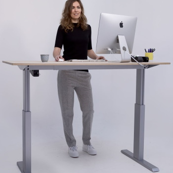 AluforcePro 140 standing desk - Posture People