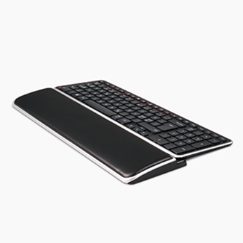 Contour balance keyboard with wrist rest