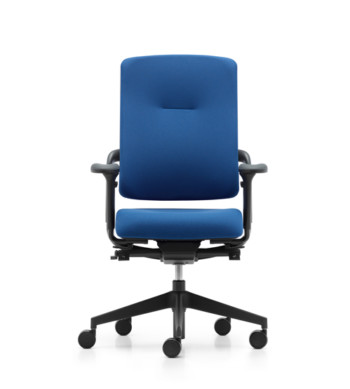 Grahl Xenium Basic Chair in blue fabric