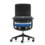 Grahl Xenium basic office chair - rear view