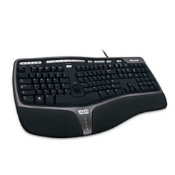 Microsoft natural 4000 ergonomic split keyboard