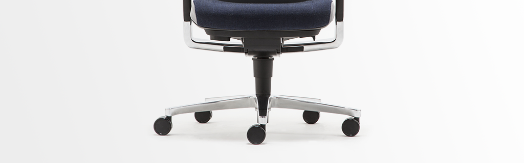Ergonomic office chair with a 5 star