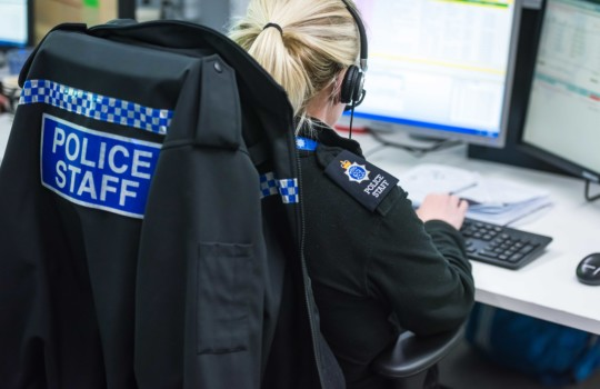 Sussex Police contact centre