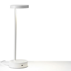 Lolly desk lamp with power socket
