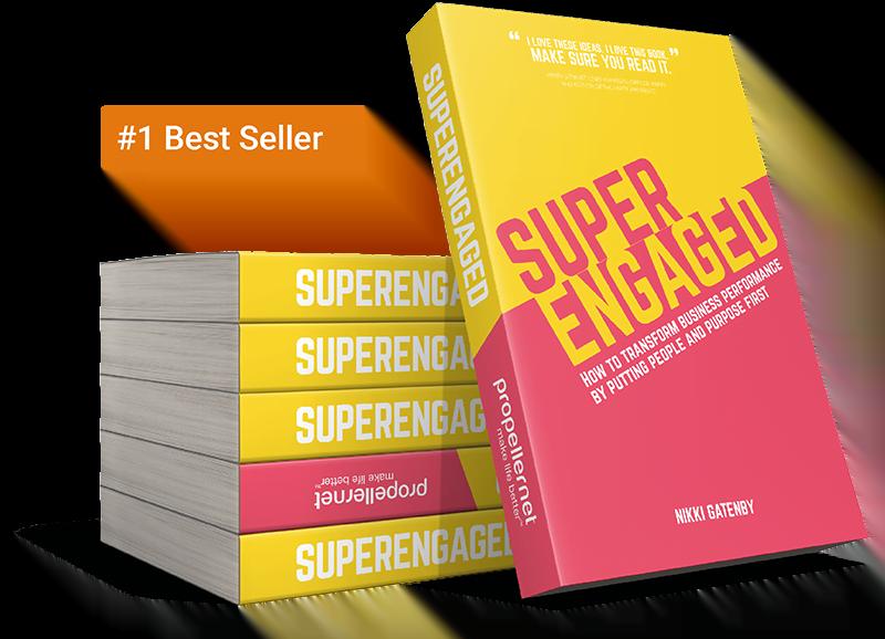 Superengaged by Nikki Gatenby - managing director of propellernet