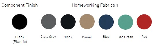 Home working chair fabrics