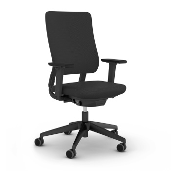 Drumback Ergonomic Office Chair in Black