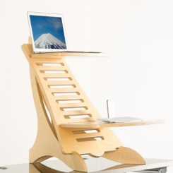 Eiger Pro Adjustable Wooden Standing desk