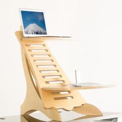 Eiger Pro Adjustable Wooden Standing desk
