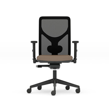 Pluto plus mesh office chair from the senator group with arms