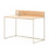 Crate regular desk with upstand