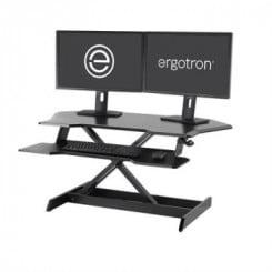 Ergotron workfit corner desk